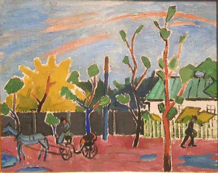 Sole dopo la pioggia.  1908. Tret'jakov Gallery