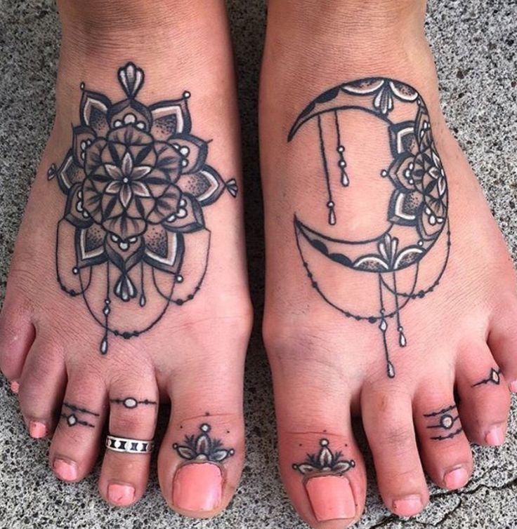 Foot tat idea