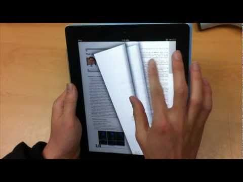 Smart E-Book interface