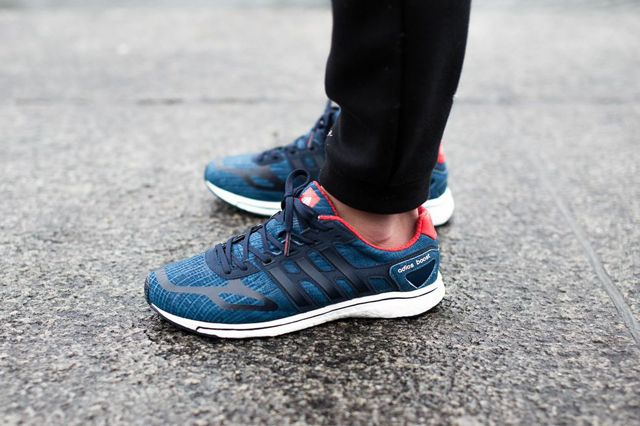 ADIDAS ADIZERO BOOST (BLUEPRINT BLUE)   Sneaker Freaker