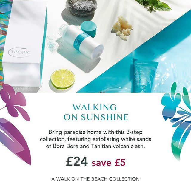 Treat your mum to the gift of beautifully soft feet this Mothering Sunday, March 11th here in the UK. 💕  This 3-step kit contains fizzy, refreshing peppermint soak, exfoliating Polishing Pebble to remove rough skin, and luxurious Repairing Foot Remedy, to soften, smoothe and repair her skin. 👌  Just £23 (save £5) ✨