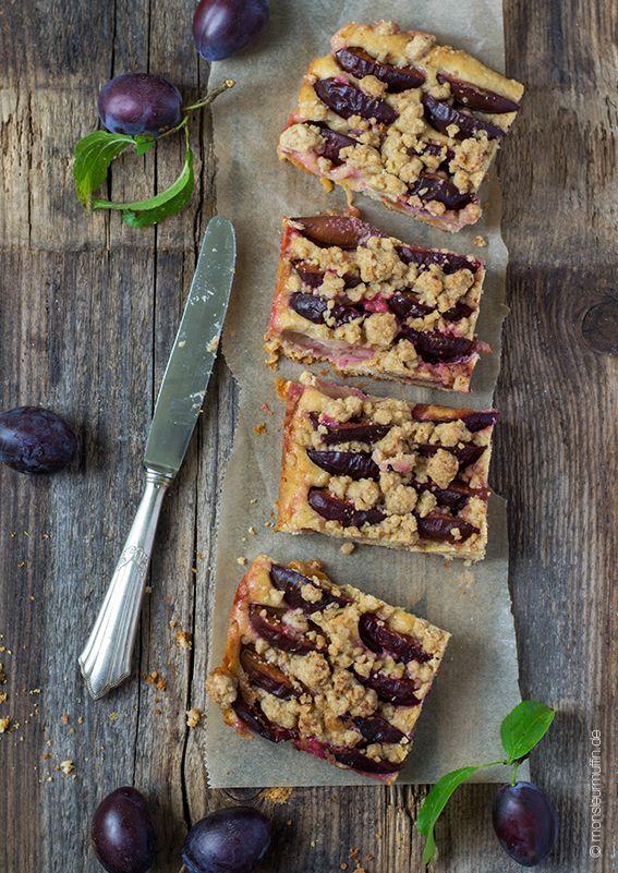 Pflaumenkuchen mit Zimtstreusel   plum cake   Pflaumenkuchen   Pflaumen   plum   Herbst-Rezepte   Kuchen   © monsieurmuffin