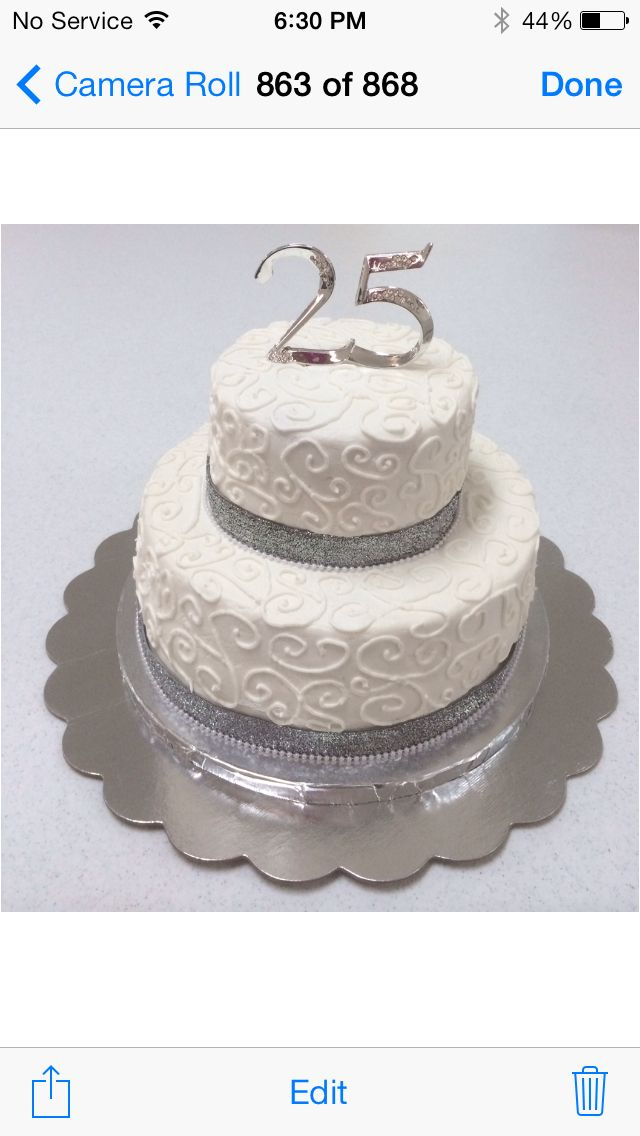 17 Best Ideas About Wedding Anniversary Cakes On Pinterest