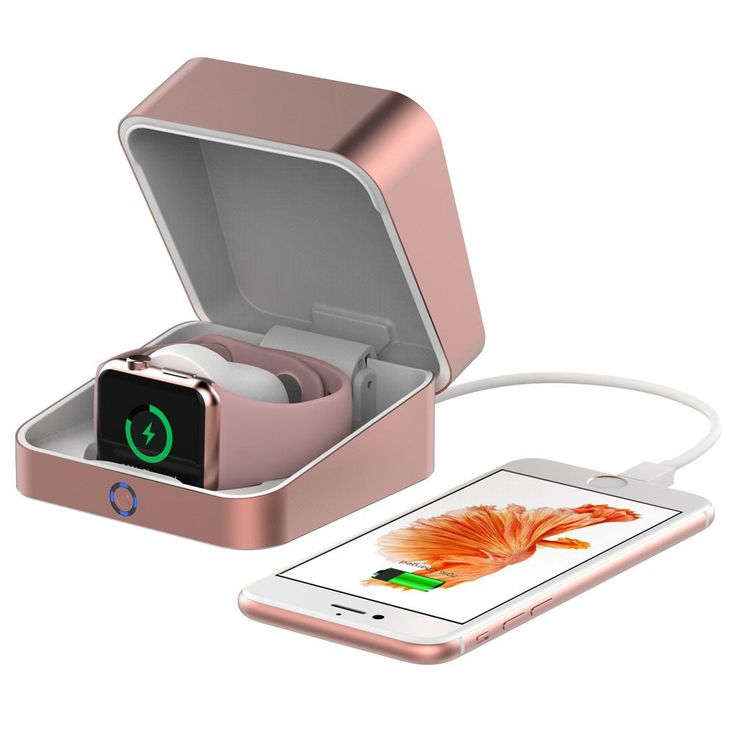 Shop online for Cooper Watch Power Box aircraft aluminum charging case for Apple Watch. Compatible with 38mm/42mm Apple Watch. Includes 3000mAh power bank.