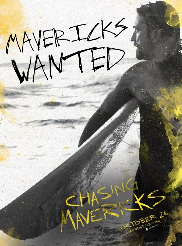 This movie comes out on October 26. It's rated PG...great story about surfer Jay Moriarity.   Check it out and support my friend Gerry!  :)