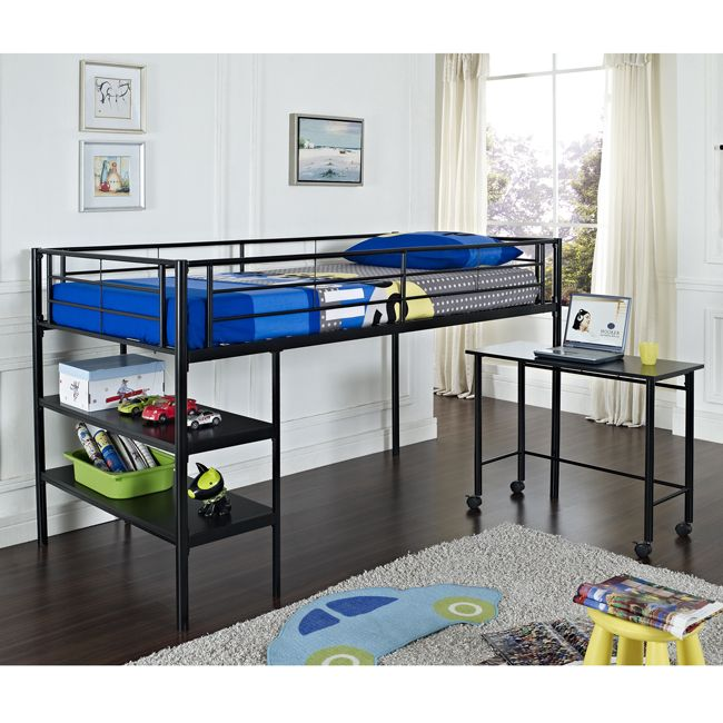 1000 ideas about bed with desk underneath on pinterest bunk bed with desk lofted beds and for Bedroom set with matching desk