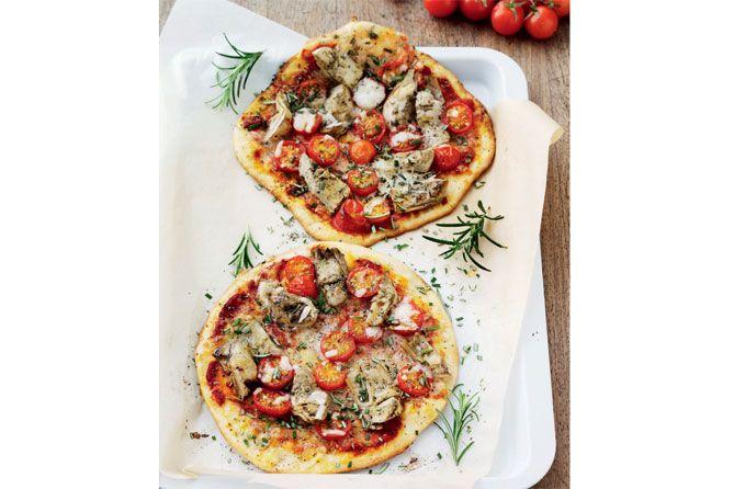 Det er bare brød: 6 sunde opskrifter Sund pizza