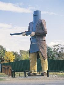 """BIG"" Ned Kelly - Glenrowan, VIC Australia"
