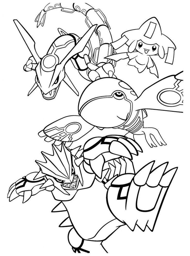 Legendary Pokemon Coloring Pages Az Coloring Pages Pokemon