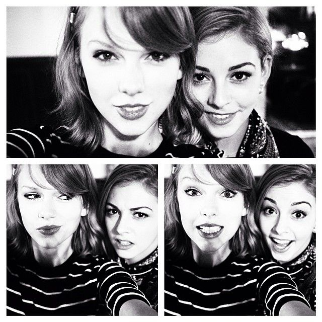 Gracie Gold and Taylor Swift!