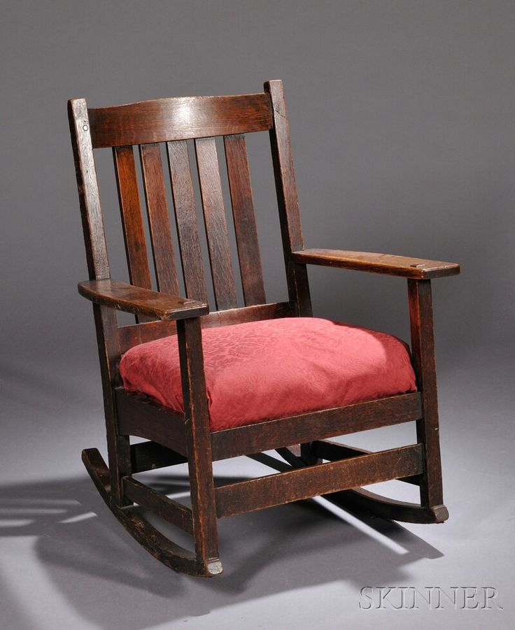 L. U0026 J. G. Stickley Rocking Chair