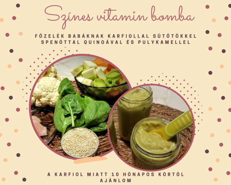 Ismét egy finom és színes összeállítás! Van benne minden, amire szüksége lehet a szervezetnek. Remek vitamin forrás a karfiol és a sütőtök is, de a sorból a Quinoát se hagynám ki ! Csak ajánlani t…