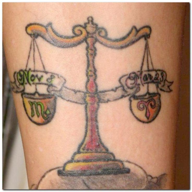 10 best aries scorpio tattoo images on pinterest scorpio for Aries and libra tattoo