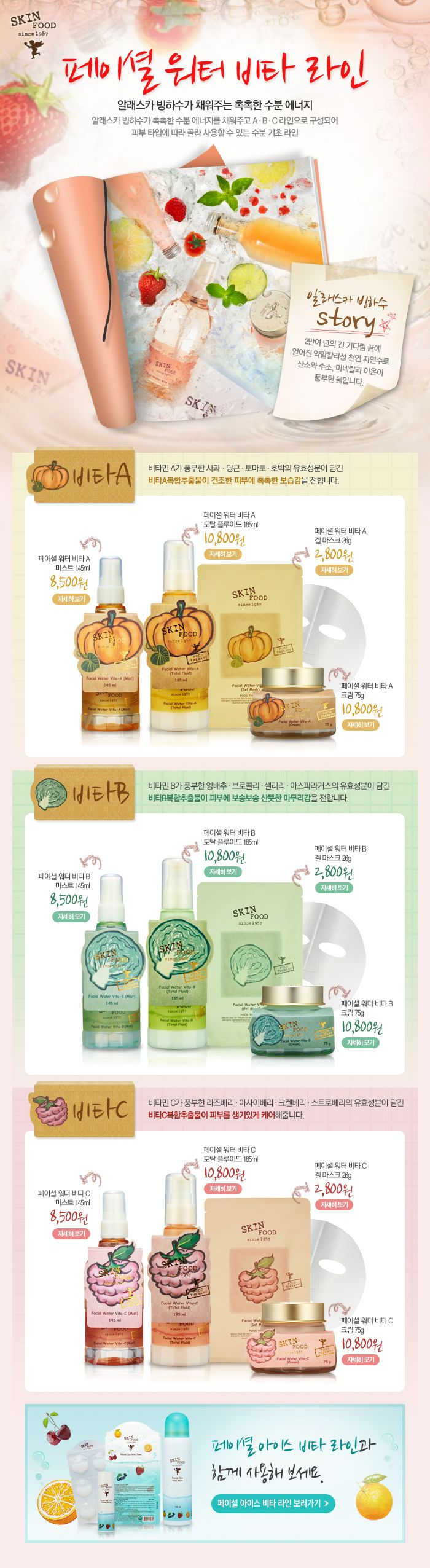 [Skin Food] Facial Water Vita-B (Total Fluid)