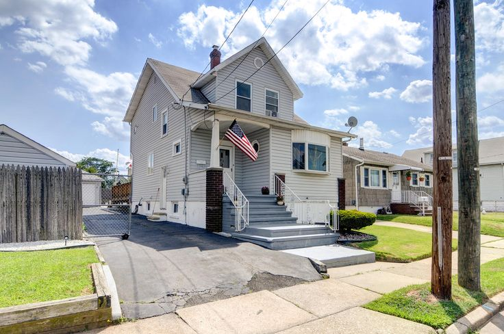 Lots of home for the price. Colonial features living room, formal dining room, huge eat-in kitchen, four bedrooms, two full baths, full finished basement. Deck to above ground pool. 1 car detached garage. #ReMax #Carteret #WoodbridgeTownship #HomesForSaleNJ
