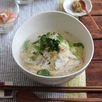 あつあつの素麺(そうめん)を食べよう♪「にゅうめん」レシピ集