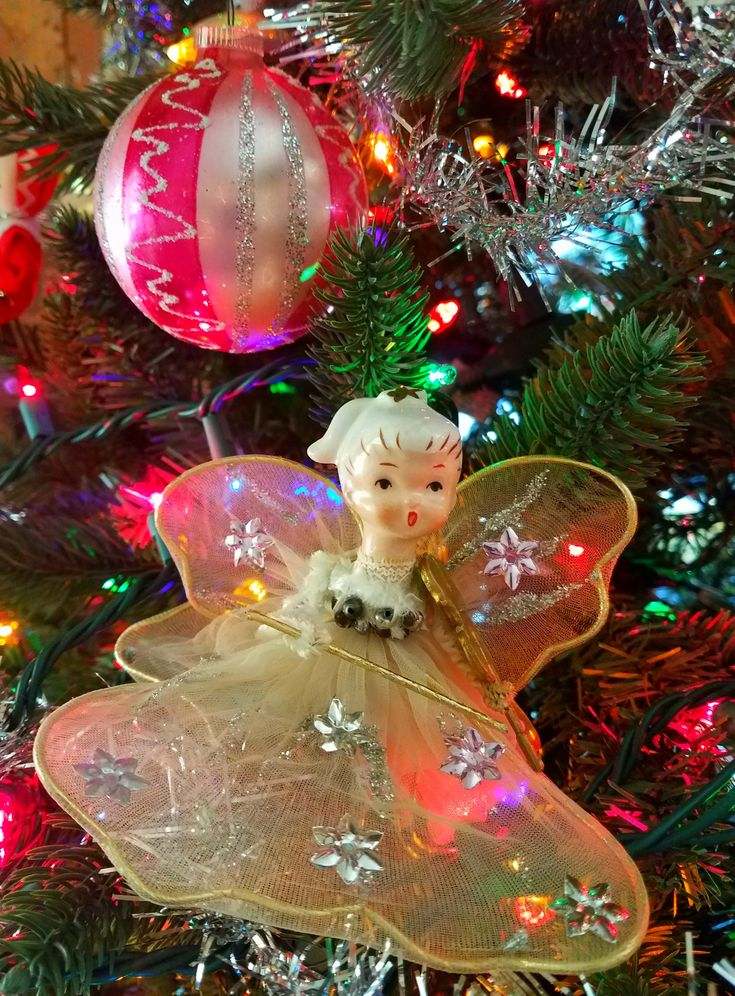 Vintage Christmas ornaments 1251 best ChristmasFigurines images