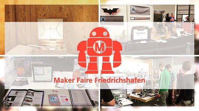 In case you missed Maker Faire Bodensee: youtu.be/eHDmbd5MBqY