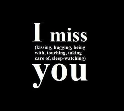 i miss you so much it hurts baby