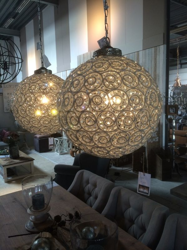 Hanglamp Sparkle Round Chandelier Ptmd