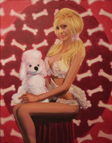 Furry dog dream