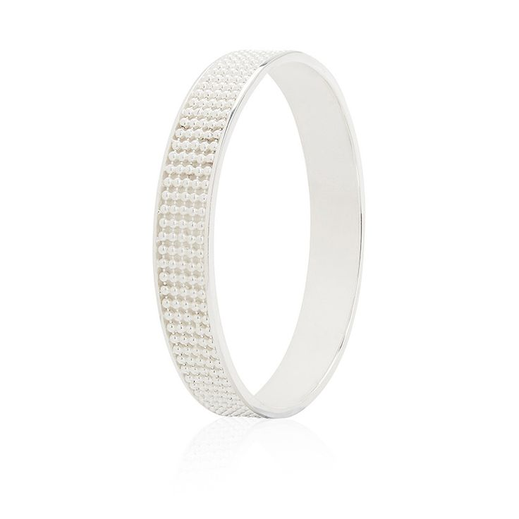 Signature Silver Bangle wide - Kate McCoy