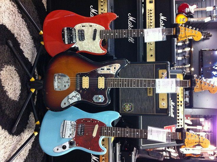 Fender Mustangs & Jaguar (Kurt Cobain)