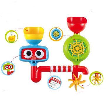 Lovely Portable Bath Tub Toy Water Sprinkler System Children Kids Toy Gift Sale - Banggood.com