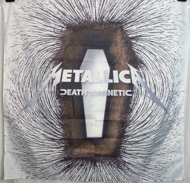 METALLICA Death Magnetic HUGE 4X4 banner poster tapestry cd album cover | eBay