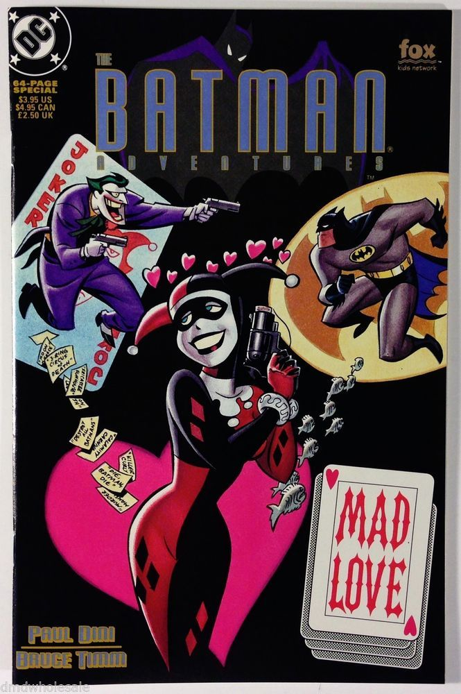 I Love Dc Comics : Best images about harley quinn on pinterest mad love