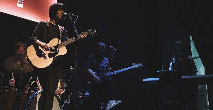Sharon Van Etten en concierto en Madrid (Teatro Lara, 11-12-2014)