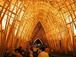 Simon Velez ' The Temporary Cathedral' in Pereira, Colombia...