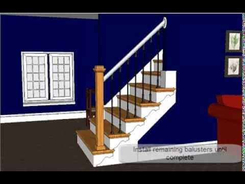 Step By Step: How To Refinished An Open Sided Staircase Using NuStair  Prefinished