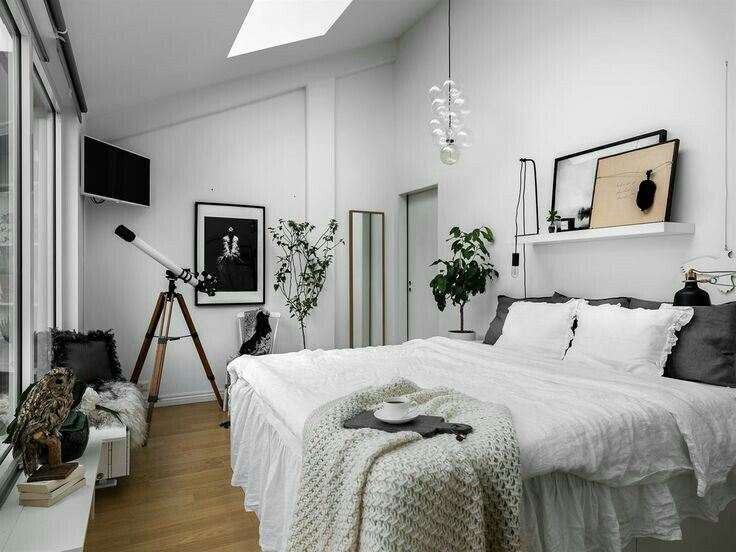 9 best images about chambre hygge on pinterest for Chambre hygge