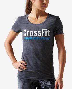 Reebok CrossFit Forging Elite Fitness T-Shirt - Green XL