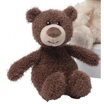 Gund 4050560 Brown Curly Small Teddy Bear