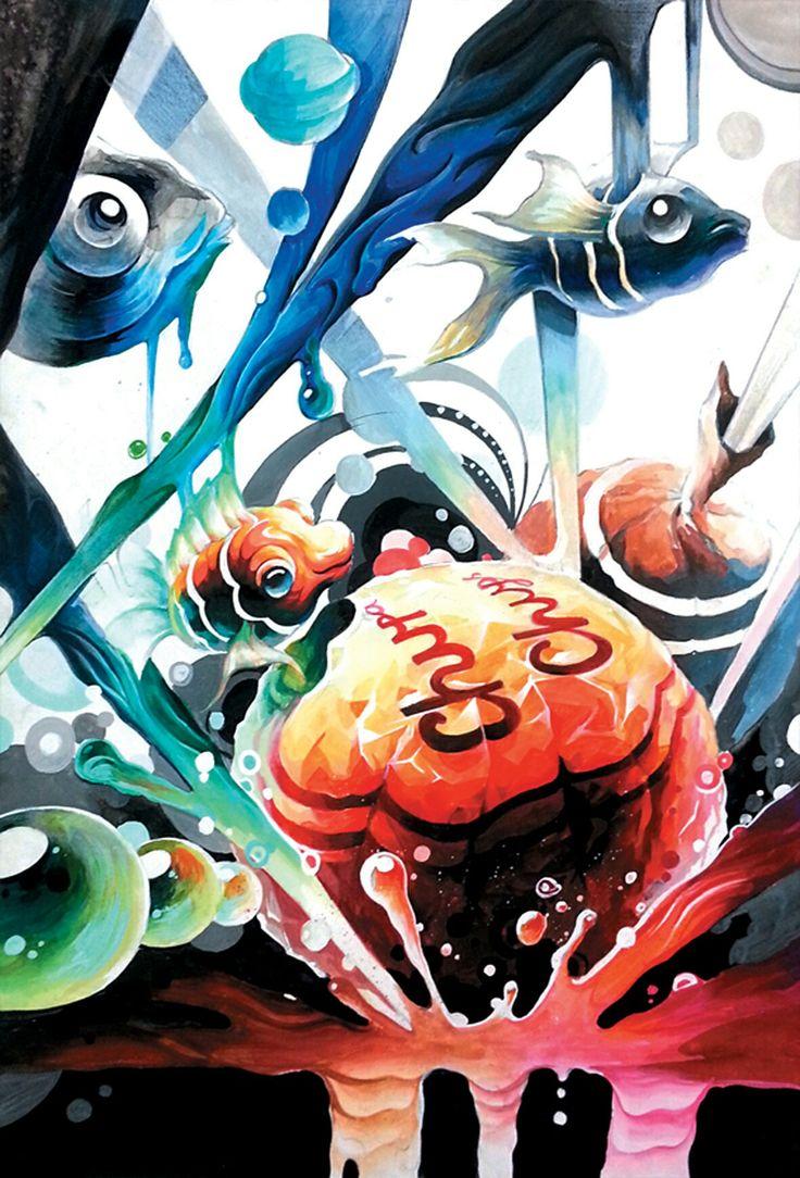 기초디자인 츄파츕스 물고기
