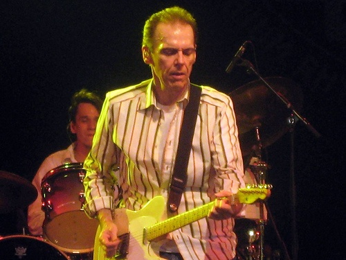 John Hiatt  -- saw him at the Fox Theater in Atlanta.  Great performance!