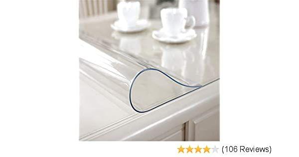 Amazon De Jetzt Transparent Pvc Tischdecke Tischschutz Hochwertig Tischfolie Tischabdeckung Kuche Glasklar Abwaschbar Bestelle Pvc Tischdecke Tischdecke Decke