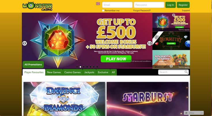 Monster Casino is a fun, exciting place to play mobile casino games. With great, new games to choose from you are spoilt for choice, and there is something to suit everyone's taste.