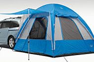 Check out this awesome #Honda #Genuine #tent. It attaches onto the Honda #Odyssey for convenient access.