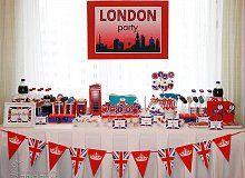 """День рождения в стиле """"Лондон"""" - День рождения девочки - Место, где живет праздник"""