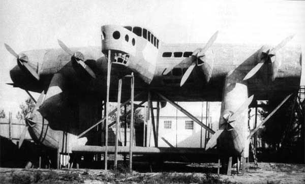 Kalinin K-7 Russian Giant Transport/Bomber  Prototype