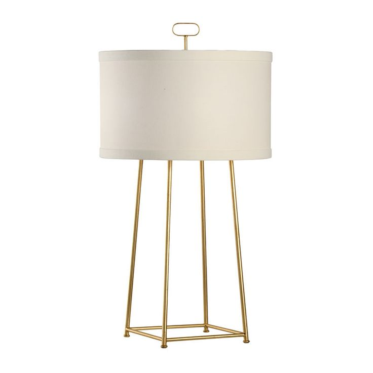 Howell modern gold lamp by chelsea house