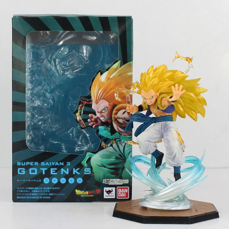 16cm Anime Dragon Ball Figuarts Zero Super Saiyan 3 Gotenks PVC Action Figure Collectible Model Toy - free shipping worldwide