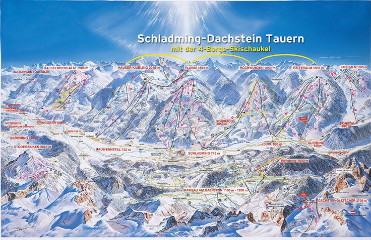 Schladming Ski Resort Guide, Location Map & Schladming ski holiday accommodation