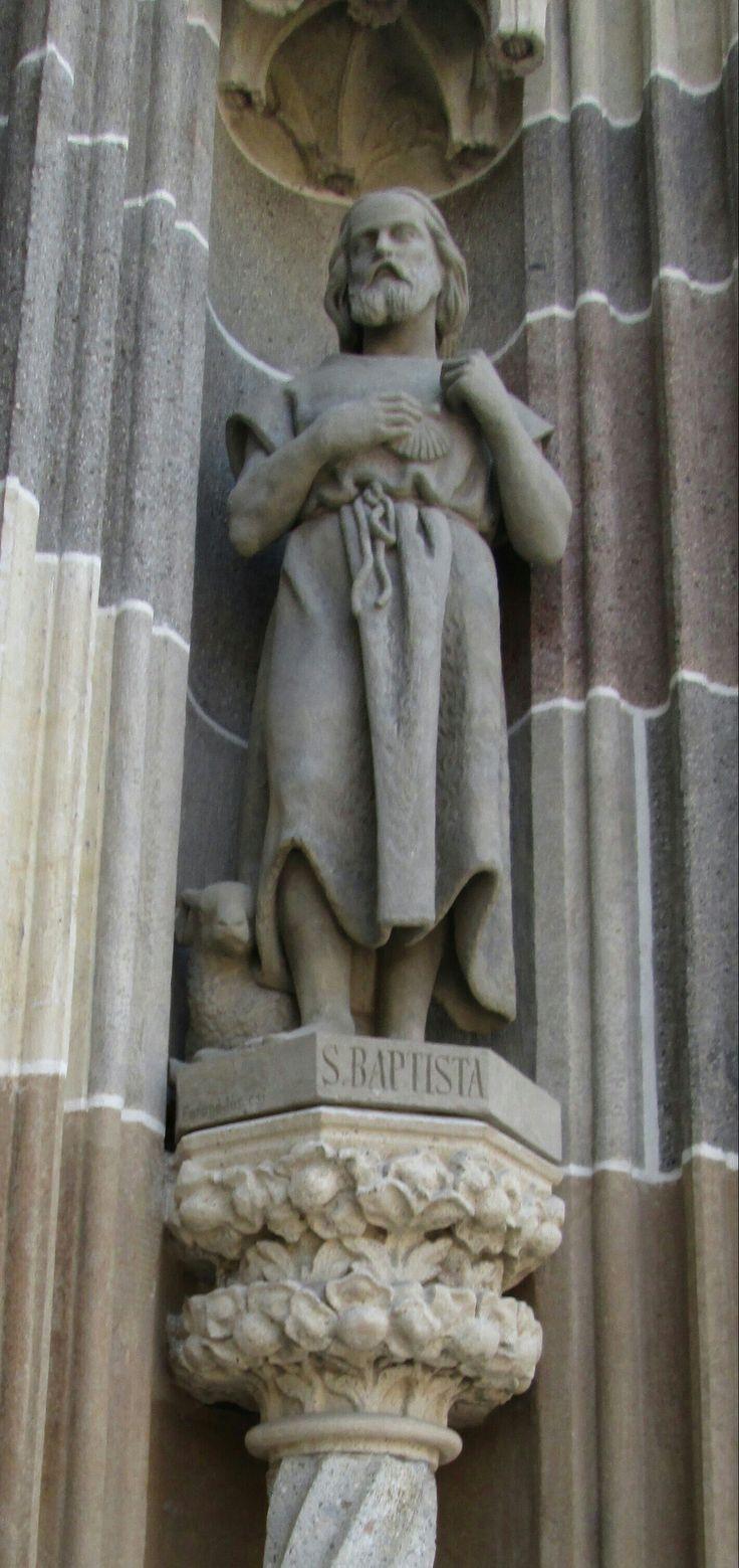 Statue of St. John the Baptist, Košice