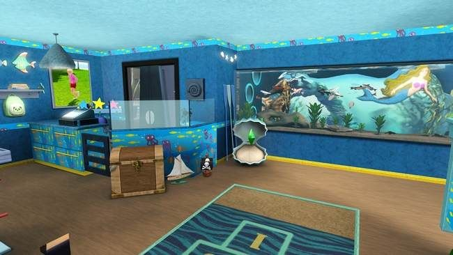 cool Ideas For a Sea Themed Girl and Boys Room