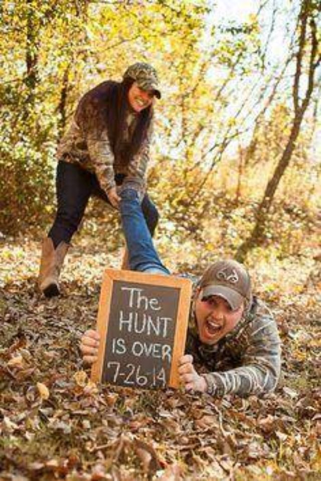 Love this.!! funny country save the date.!