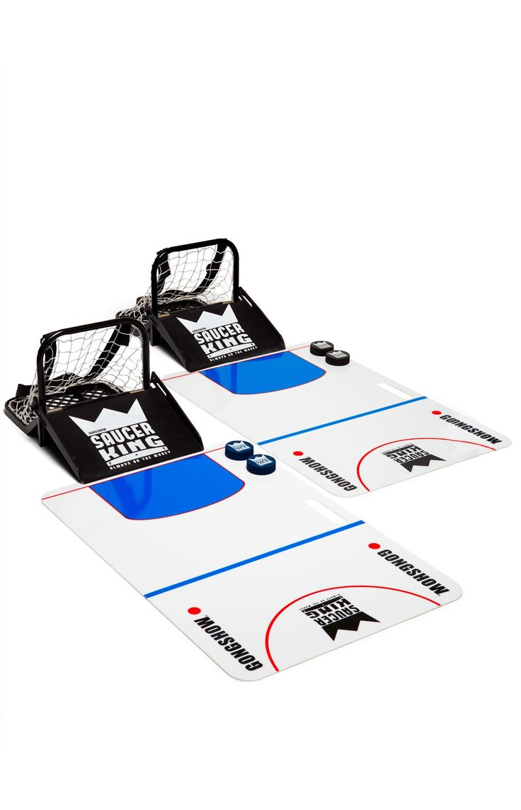 The Official Saucer King Game Kit - Toss some sauce wherever you go with this set by GONGSHOW Lifestyle Hockey Apparel - Gongshow Gear - Lifestyle Hockey Apparel